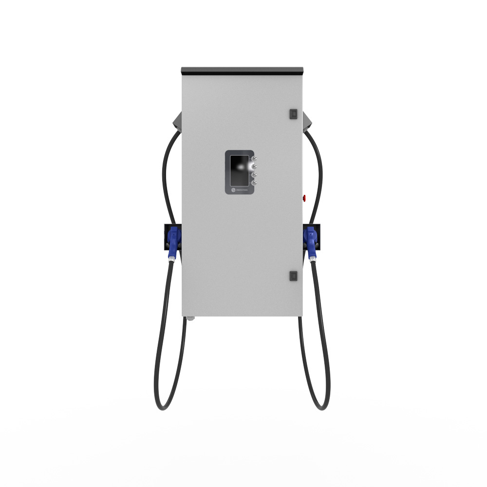 50 kW Chademo and CCS charging station (wall-mounted) with OCPP support