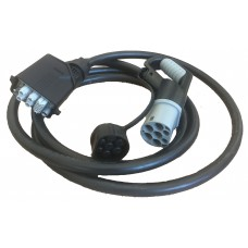 Power cable TYPE2 for connecting a charging station 25kW