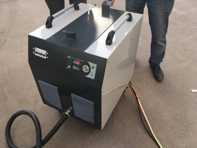 Tests of the new 50 kW Chademo mobile charging station have been completed